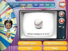 Describe it to me ($9.99) Describe it To Me is a fun, multi-level game, created to help improve the receptive and expressive language skills in children and adults. Based on research and designed by a certified speech-language pathologist, Describe it To Me employs a game show atmosphere to engage clients in their learning while incorporating a variety of questions designed to help clients build a deeper understanding of everyday items.