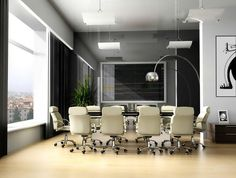 cool office reception space | Contemporary Office Meeting Room Image | Commercial Office Furniture