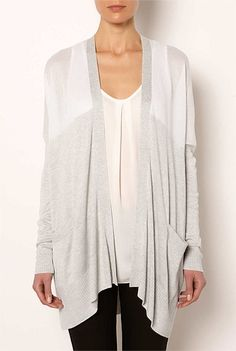 Tops | Women's tanks, lace camis, T Shirts & more| Witchery Online - Sheer Yoke Cardi #witcherywishlist Waterfall Cardigan, Jumpers, Tanks, Cami, Knitwear, Cardigans, Kimono Top, Tunic Tops, My Style