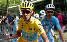 Maglia gialla 2014 - Vincenzo Nibali!  #TDF2014 #TourDeFrance