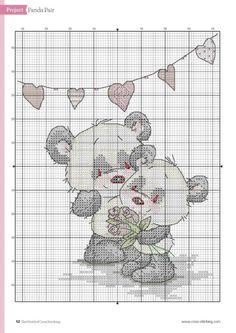 ru / Фото - The world of cross stitching 217 - tymannost Kawaii Cross Stitch, Cute Cross Stitch, Cross Stitch Alphabet, Cross Stitch Animals, Cross Stitch Kits, Cross Stitch Charts, Cross Stitch Designs, Cross Stitch Patterns, Cross Stitching