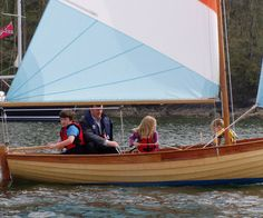 Fowey River Class Dinghies handbuilt by wooden boatbuilder Marcus Lewis. Marcus specialises in the build of the Fowey River class and is based in Fowey Cornwall