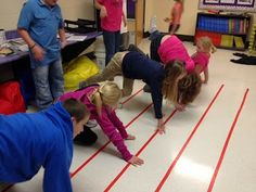 Music Centers - Music Staff Twister!