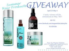 GIVEAWAY: my MUST HAVE hair products for summer! #giveaway #hairproducts #summer