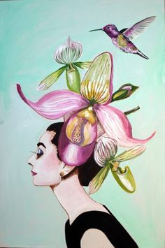 """Slipper Orchid Audrey"""