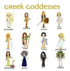 Greek gods/goddess | ... 2010 2013 glitterpig my greek goddess dolls 3 i love greek mythology