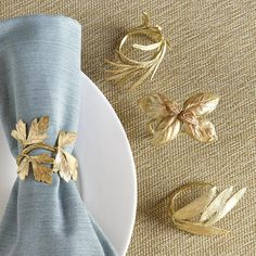 Napkin rings are little details that make me oh-so-happy. :) #party #napkin_rings