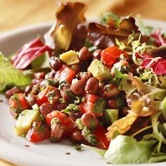 Healthy Low Carb Recipes Suitable For The South Beach Diet Plan. Easy South Beach Diet Black Bean Salad Recipe The Whole Family Will Love. Healthy Low Carb Recipes, Spicy Recipes, Diet Recipes, Uk Recipes, Recipe Sites, Yummy Recipes, Black Bean Salad Recipe, Bean Salad Recipes, Dr Oz