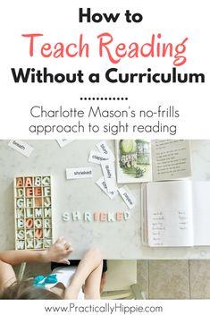 Charlotte Mason sight reading lesson