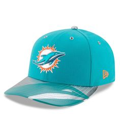 Miami Dolphins New Era NFL Spotlight Low Profile 59FIFTY Fitted Hat - Aqua 3238f4f02