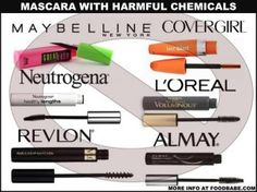 What's in name brand mascara and how to choose better