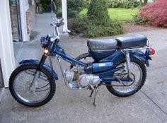 Honda trail 90 restore