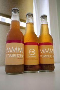 #kombucha #live #beverage #bottle #design #packaging #package #design #identity #logo #pd #MMM