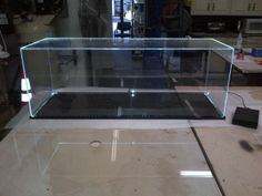 Acrylic Box With White LED lights