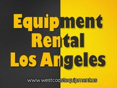 Visit this site http://westcoastequipment.us/scissor-lift-rentals/ for more information on the scissor lift Los Angeles. If you have an upcoming job that requires you to be elevated off the ground, then you should consider a scissor lift Los Angeles. Most companies that have a scissor lift rental option will deliver and pick up the unit. If you have a big job that requires you to use a ladder, choose a scissor lift rental company in your area instead to get the job done quickly and safely.
