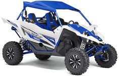New 2017 Yamaha Ss Blue ATVs For Sale in California. 2017 Yamaha Ss Blue, Grab a Gear - The new SS puts pure sport performance at your fingertips with an all new 5 speed sequential Sport Shift (SS) transmission with automatic clutch. Aggressive Driving, Yamaha Sport, A Gear, Suspension Design, Buggy, Fox Racing, Cylinder Head, Manual Transmission, First World