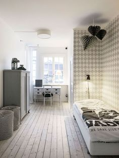 〚 Minimalist holiday home in Sweden 〛 ◾ Photos ◾Ideas◾ Design Swedish House, Beautiful Interiors, Rustic Decor, Guest Room, Baby Room, Kids Room, House Design, Bedroom, Modern
