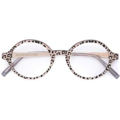 a7ffa2cb9c Cutler   Gross leopard print glasses ( 395) ❤ liked on Polyvore featuring  accessories