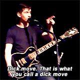 dick move