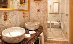 Dekorasyonda Yeni Trend Hamam Tarzı Banyo Dekorasyonu Modelleri !!!