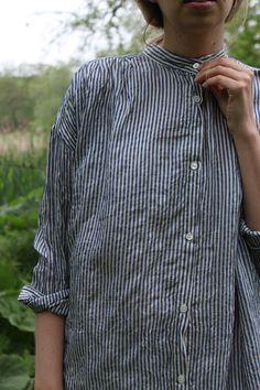 caac2006cc Ichi Antiquites Khadi Stripe Dress
