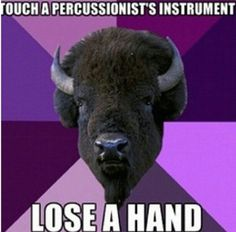 Percussion, marching band
