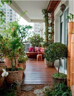 Frühlingsdeko basteln - den kleinen Balkon frisch gestalten