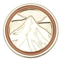 The Journey Summit Award Pin is earned by girls who have completed all three National Leadership Journeys at their grade level. The colored border around each pin corresponds to their grade level. This award is the highest award a Girl Scout Daisy and Girl Scout Brownie can earn