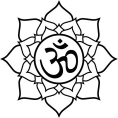 Lotus with om tattoo design based on artwork by Greg James. Description from pinterest.com. I searched for this on bing.com/images