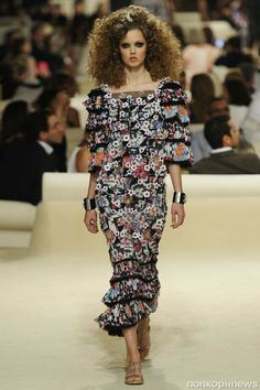 Lindsey Wixson in Chanel Resort