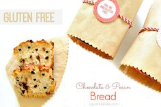 #GlutenFree Chocolate and pecan bread using glutinos Sandwich Bread in a box jojoandeloise.com