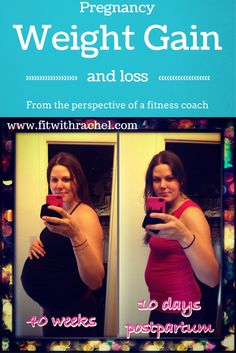 I gained a lot of weight with my #pregnancy..eek! Here is my story: http://www.fitwithrachel.com/pregnancy-weight-gain-loss