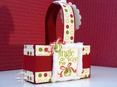 Bee Divine Designs: 3D projects  Stampin' up! Box #2 Die