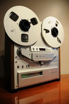 I miss my reel to reel recorder.
