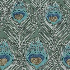 LIBERTY OF LONDON Caesar XL FQ PEACOCK Fabric Green FEATHER Classic TANA LAWN