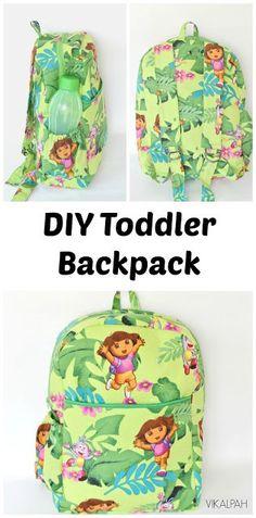 Tutorial: Toddler backpack