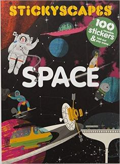 Escape Earth's atmosphere and enter Stickyscapes Space! Over 100 removable stickers and a double-sided panoramic space scene let you learn everything about the Milky Way and beyond. One side of the panorama shows real space adventures, so includes Vancouver, Alien Spaceship, Life Space, Nasa Missions, Illustrations, Deep Space, Activities To Do, Milky Way, Solar System