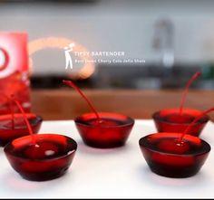 Best damn cherry cola Jell-O shots