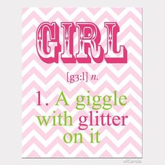 More cute wall art for her room