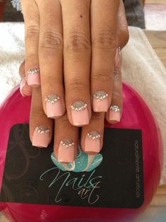 Nails art, acrylic nails