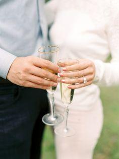 Cheers: http://www.stylemepretty.com/2015/04/13/romantic-surprise-proposal/ | Photography: Dana Fernandez - http://www.danafernandezphotography.com/