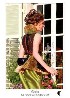 Gaia – Fabienne Dimanov Paris Facon, Gaia, Dresses, Dress Ideas, Vestidos, Dress, Gown, Outfits, Dressy Outfits