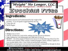 The Perfect Side!! Enjoy our zucchini fries! #idealprotein #recipe #happyfourth #weightnolongerllc - Ideal Protein -