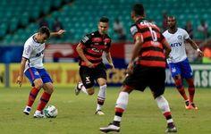 Em partida de gol relâmpago, Bahia e Atlético-GO empatam na Fonte Nova