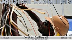 Seeking expert electrical contractors in Port Elizabeth? Then we've got the men for the job! Our accredited electricians offer affordable services for both h. Electrical Work, Electrical Supplies, Electrical Problems, Electrical Projects, Electrical Engineering, E Learning, Emergency Electrician, Electrician Sydney, Electrician Services