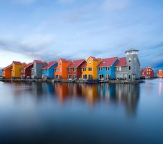 "Paddepoel, Groningen, NL / ""Waterworld"" by Daniel Bosma 