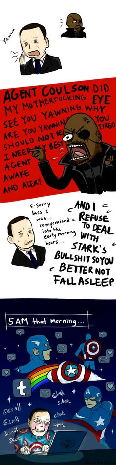 Avengers: /Compromised/ he said by ~krusca on deviantART
