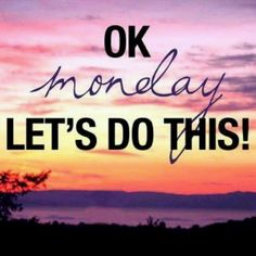 OK MONDAY LETS DO THIS #MONDAY #CURVESWALLSEND