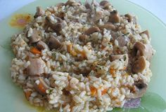 Rice with mushrooms (serbian)
