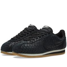 Nike Classic Cortez Leather Premium (Black & Gum)